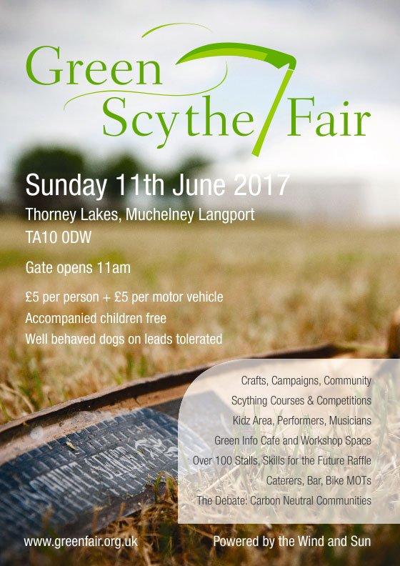 Green Scythe Fair 2017
