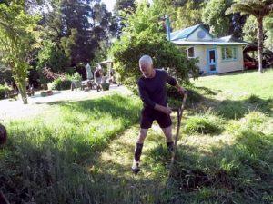 Kevin - Scything - New Zealand