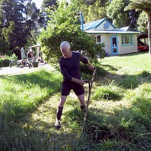 Scything — New Zealand