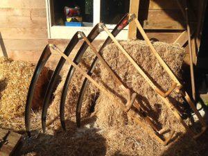 Scythe blades - European Scything championships