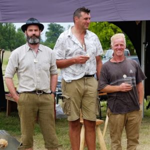 Wimpole National Scythe Competition - Group