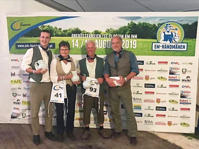 Uk-Ireland team -European Championships Austria